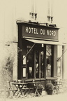 Canal St Martin - Hotel du Nord 2 sepia