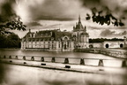 Chantilly - Chateau - Vue generale old